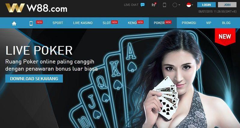 Apa Kelebihan Poker W88?