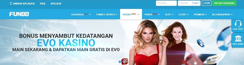 Club Fun88 Indonesia - Kasino Menarik