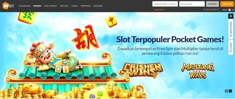 188Bet Slot Game Indonesia Paling Populer
