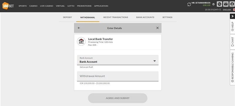 Menarik Uang Menggunakan Bank Transfer