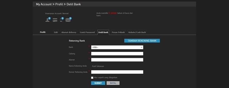 Metode Kartu Kredit untuk Penarikan Cepat