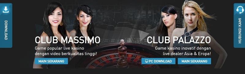 Live Kasino dengan Club Paling Nyata