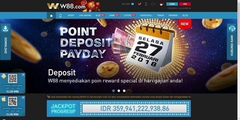Langkah-Langkah Mudah Untuk Melakukan Deposit di W88