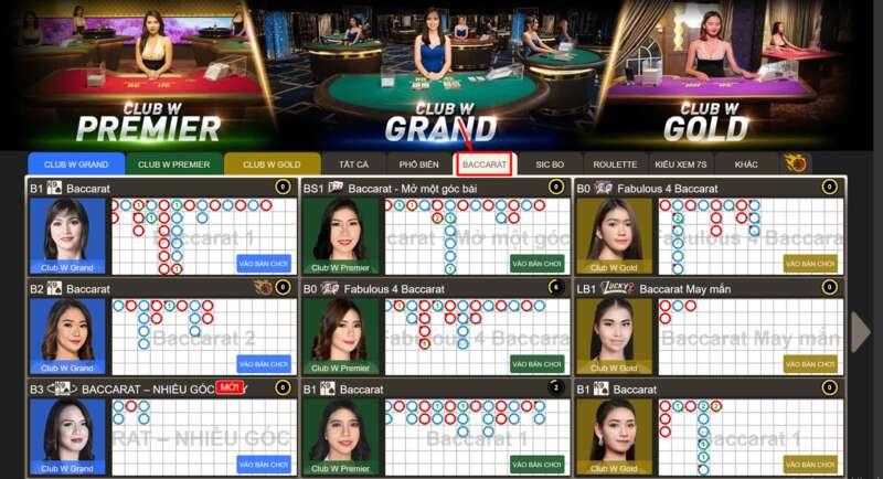 Prosedur Rinci Permainan Bakarat Di Dealer W88