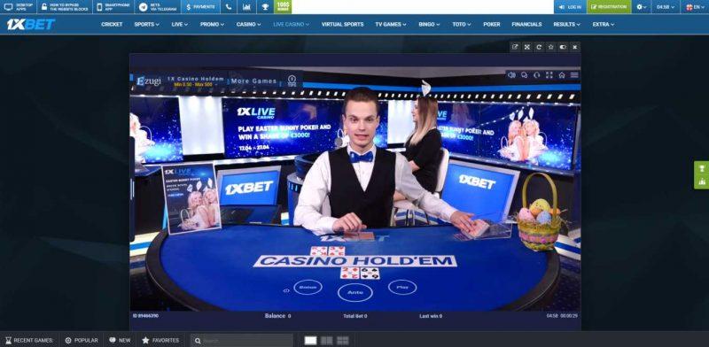 Aturan Dasar Untuk Bermain Poker Di Rumah Taruhan 1xBet