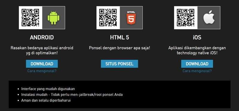 Dapatkan Baccarat Online Android dan iOS Sekarang Juga