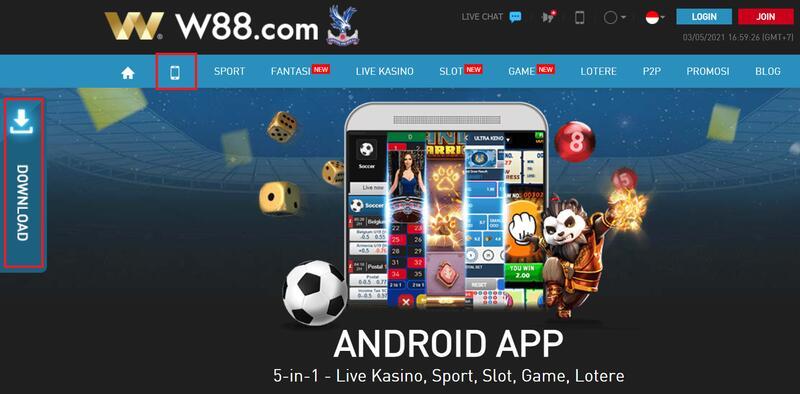 Cepatnya Melakukan Download Aplikasi W88 Versi Android