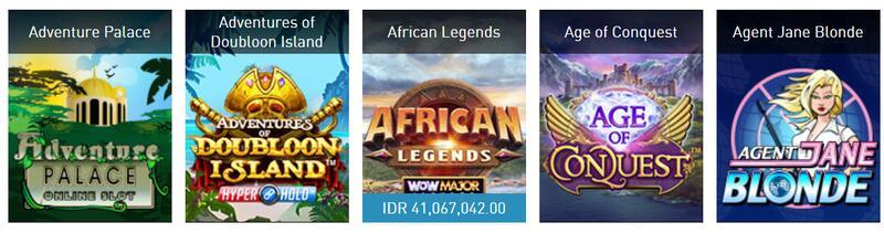 Koleksi Game Slot Microgaming Indonesia di Situs W88