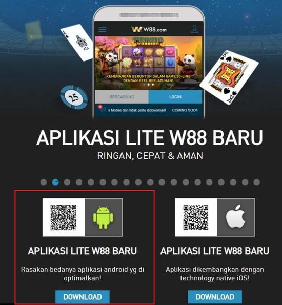 Nikmati Berbagai Fasilitas Lengkap dalam W88 Android