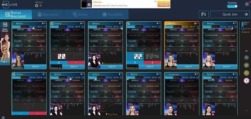 Opsi Meja-Meja Blackjack dalam Ruang Casino W88