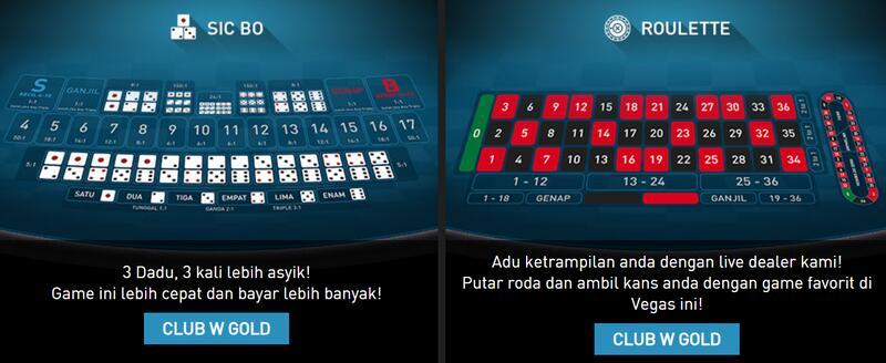 Jenis Permainan W88 Online dengan Dukungan Vendor Ternama