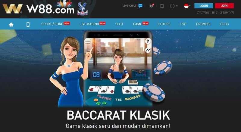 Ketahui Berbagai Permainan W88asia Mobile